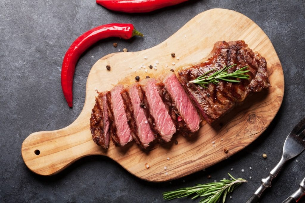 Steak can be a part of a Ketogenic Diet